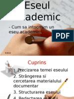 Eseul Academic