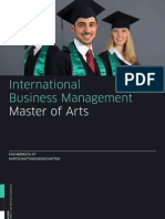 m International Business Management 201101