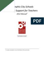 TTE Teacher Summer Support Manual