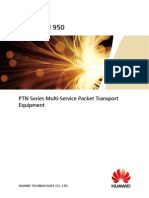 OptiX PTN 950 Packet Transport Platform Product Brochure