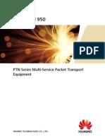OptiX PTN 950 Packet Transport Platform Product Brochure