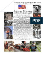 Warren History Michigan  Part One 1-28 Macomb County