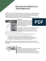 Instrumentasi Dan Rekayasa Meteorologi