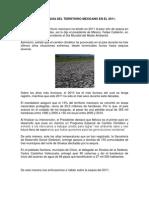 La Peor Sequia Del Territorio Mexicano en El 2011