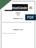 Matematicando (soluções abril)