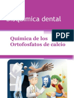 Bioquímica dental
