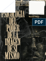 Maxwell Maltz - Psicologia Del Poder de La Imagen de Si Mismo (1)