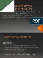 Present Simple Presentation