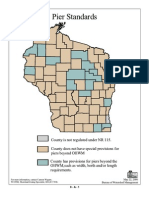 Pier & Dockominium Standards by County in Wisconsin