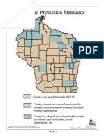 Wetland Protection Standards by County in Wisconsin