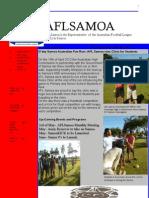 AFLSAMOA Newsletter April 2012 Edition - Copy