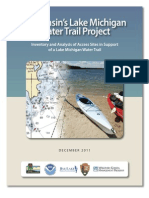 Wisconsin's Lake Michigan Water Trail Project