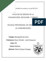 Monografía Caral