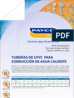 tuberias CPVC PAVCO