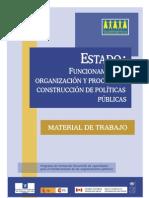 Estado,  Funcionamiento y Organización