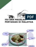 Kuliah 13 - Masalah Dan Isu Pertanian Di Malaysia