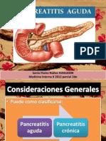 PANCREATITIS AGUDA 2012 parcial 2