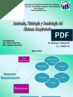 Anatomia y fisiología respiratoria.