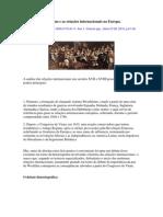 O sistema Westfaliano e as relações internacionais na Europa