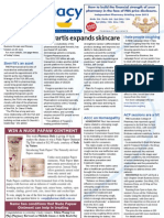 Pharmacy Daily for Fri 04 May 2012 - Novartis dermatology, Skerritt, Homeopathy, Mental health and much more...