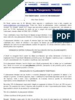 PLANEJAMENTO TRIBUTÁRIO – LUXO OU NECESSIDADE_