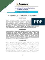 D009-2009 - Ley Contra La Violencia Sexual