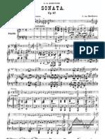 Beethoven Violin Sonata 9 Score