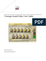 Voxengo Sound Delay User Guide En