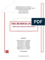 Microbiologia  Entericas