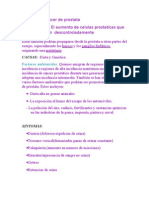 Dx Cancer de Prostata