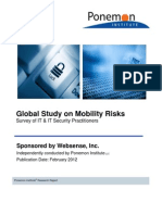 Report Ponemon Mobility Risks 1202 En