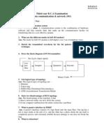 Solve Paper Dcn1