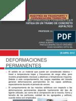 Expo Deformaciones Permanentes y Fatiga
