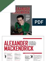 CICA Febrero 2012. Alexander Makendrick y el cine británico de posguerra.