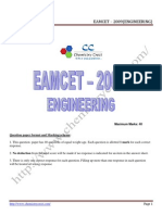Eamcet 2009 Engg