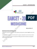 Eamcet 2009 Med