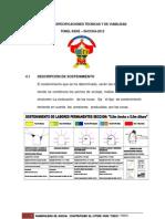 ALGUNAS ESPECIFICACIONES TÉCNICAS Y DE VIABILIDAD TÚNEL KEKÉ – SUCCHA-2012