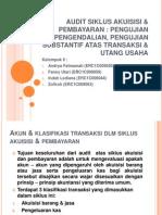 Audit Siklus Akuisisi & Pembayaran