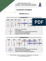 Calendário Acadêmico Turma 2011 (1)