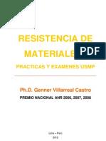 libro resistencia de materiales i (prácticas y exámenes usmp)