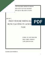 Nhom3-Phan Tich He Thong HACCP AP Dung Tai Cong Ty ACECOOK VN