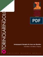 Otorinolaringologia MINERVA intratympanic