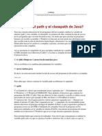 VARIABLES Path y Classpath