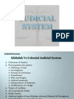 Judicial System In Islam