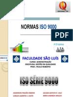 TRABALHO DE GESTÃO DA QUALIDADE_NORMAS ISO 9000_SLIDES