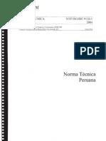 Norma Tecnica Peruana NTP-ISO/IEC 9126-1 2004 Calidad del producto - Modelo de Calidad