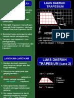 Luas Trapesium