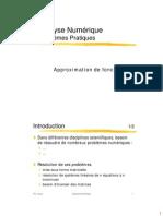 Approximation de fonction ( cours math 4 usthb )