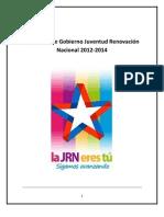 Programa JRN 2012-2014 LA JRN ERES TÚ