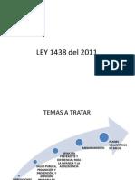 LEY 1438 del 2011